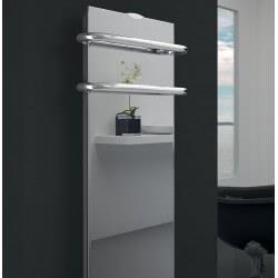 Sèche-serviettes électrique soufflant CAMPA Campaver-bains Select 3.0 Reflet 1200W CVVS12MIRE