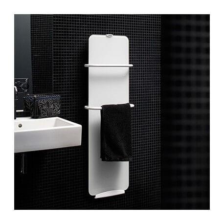 Sèche-serviettes électrique soufflant CAMPA Campaver-bains Ultime 3.0 Lys Blanc 1200W CVVU12BCCB