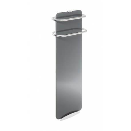 Sèche-serviettes électrique soufflant CAMPA Campaver-bains Ultime 3.0 Quartz Gris 1000W CVVU10GRIS