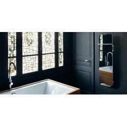 Sèche-serviettes électrique soufflant CAMPA Campaver-bains Ultime 3.0 Reflet 1200W CVVU12MIRE