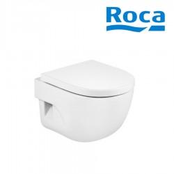 Cuvette de WC suspendue compacte en porcelaine bride fermée blanc Meridian - ROCA A346248000