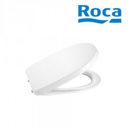 Abattant WC double laqué frein de chute SILENCIO Blanc DEBBA  - ROCA A801B2000B