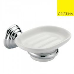 PORTE SAVON MUSEO CERAMIQUE CHROME - CRISTINA ONDYNA CA12251