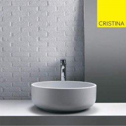 Lavabo à poser blanc CIOTOLA C2 - CRISTINA ONDYNA CI4617