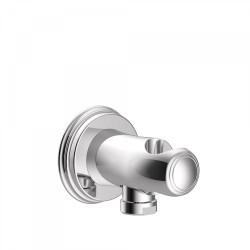 Support pour douchette avec prise d'eau murale - TRES 24218201 Support pour douchette avec prise d'eau murale - TRES 24218201242