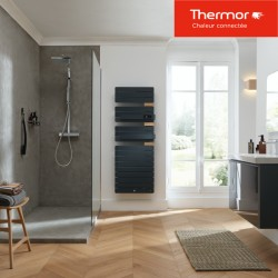 Sèche-serviettes soufflant Thermor ALLURE 3 Virtuose - 1750W (750+1000) mât à droite - 483095