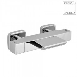 MITIGEUR BAIN DOUCHE THERMOSTATIQUE SOFT CARRE CORPS FROID NF CHROME - CRISTINA ONDYNA SF18751
