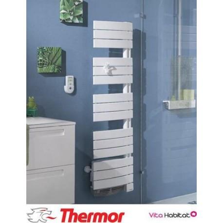 Sèche-serviettes soufflant THERMOR ALLURE Etroit Digital - 1500W (500W+1000W) - 490751