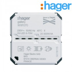 Variateur connecte GALLERY HAGER WXF070