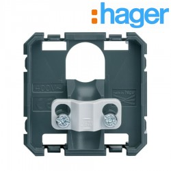 Sortie de cable 2 modules GALLERY - HAGER WXF155