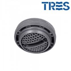 Aérateur Mâle 24/100 Chrome - TRES 29961001
