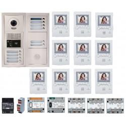 PACK VIDEO 10BP Poste intérieur audio - vidéo GTBV10E - Aiphone 200390 PACK VIDEO 10BP Poste intérieur audio - vidéo GTBV10E - A