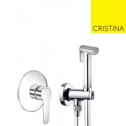 Pack encastré et douchette WC chromé NEWDAY - CRISTINA ONDYNA XND11850