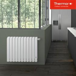 Radiateur électrique THERMOR MYTHIK 1500W Blanc Granit - 460152