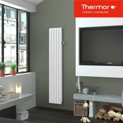 Radiateur électrique THERMOR MYTHIK Vertical 1250W Blanc Granit - 460252
