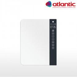 Sèche-serviettes soufflant blanc sans barre 1800W (800W+1000W) TELIA - ATLANTIC 720109