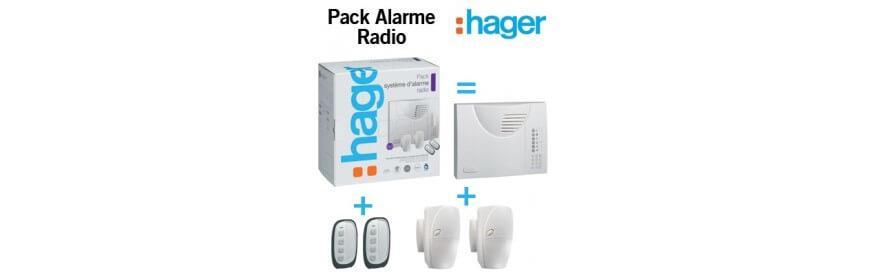 Centrale et Pack alarme Radio