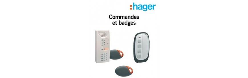 Commandes et badges