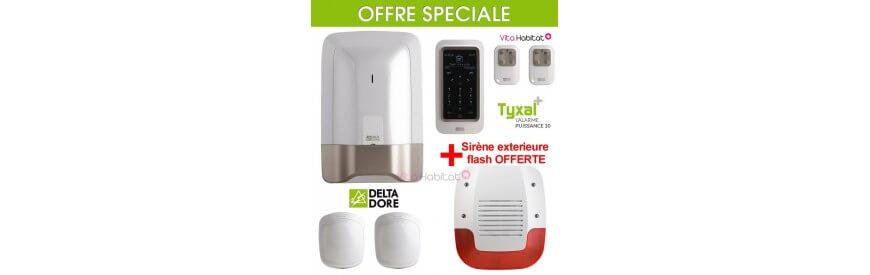 Offre Speciale et Pack Alarme radio