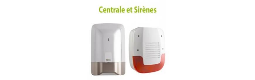 Centrales et sirènes Radio