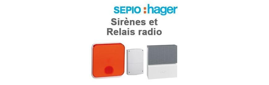 Sirènes et Relais radio