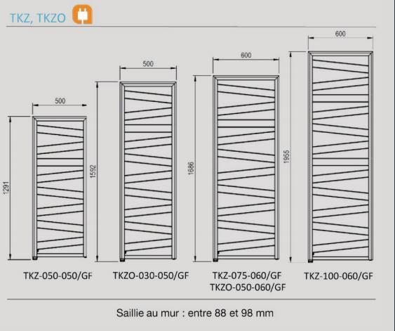 Dimension Kazeane ACOVA électrique