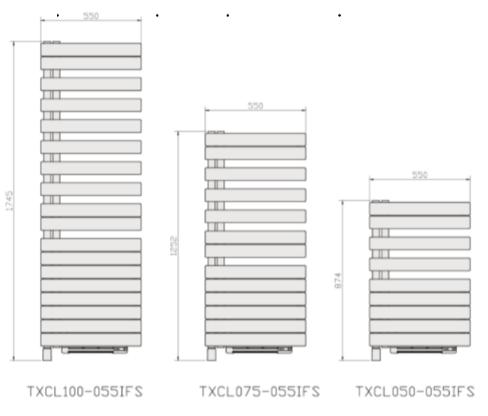dimensions TXCL