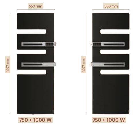 Dimensions serenis 1750w et position du mat