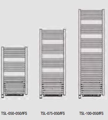 baa4cac66506 Dimensions du sèche-serviettes ACOVA ATOLL SPA +AIR ÉLECTRIQUE - TSL IFS