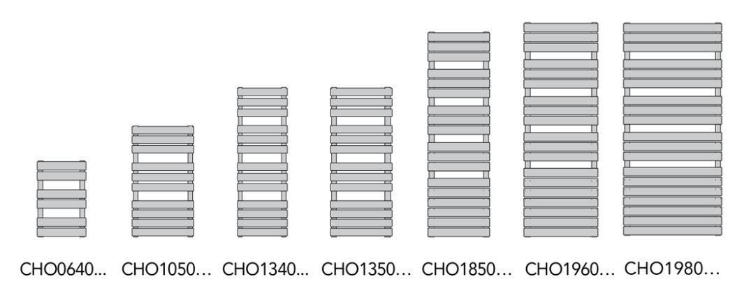 Dimension du CHORUS BAIN Finimetal LVI