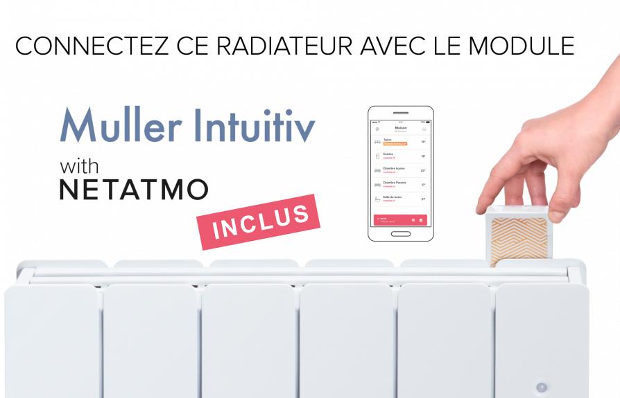 Radiateur connecte muller intuitiv